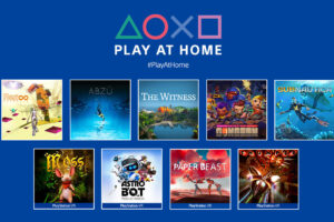 「Play At Home」イニシアチブ第3弾